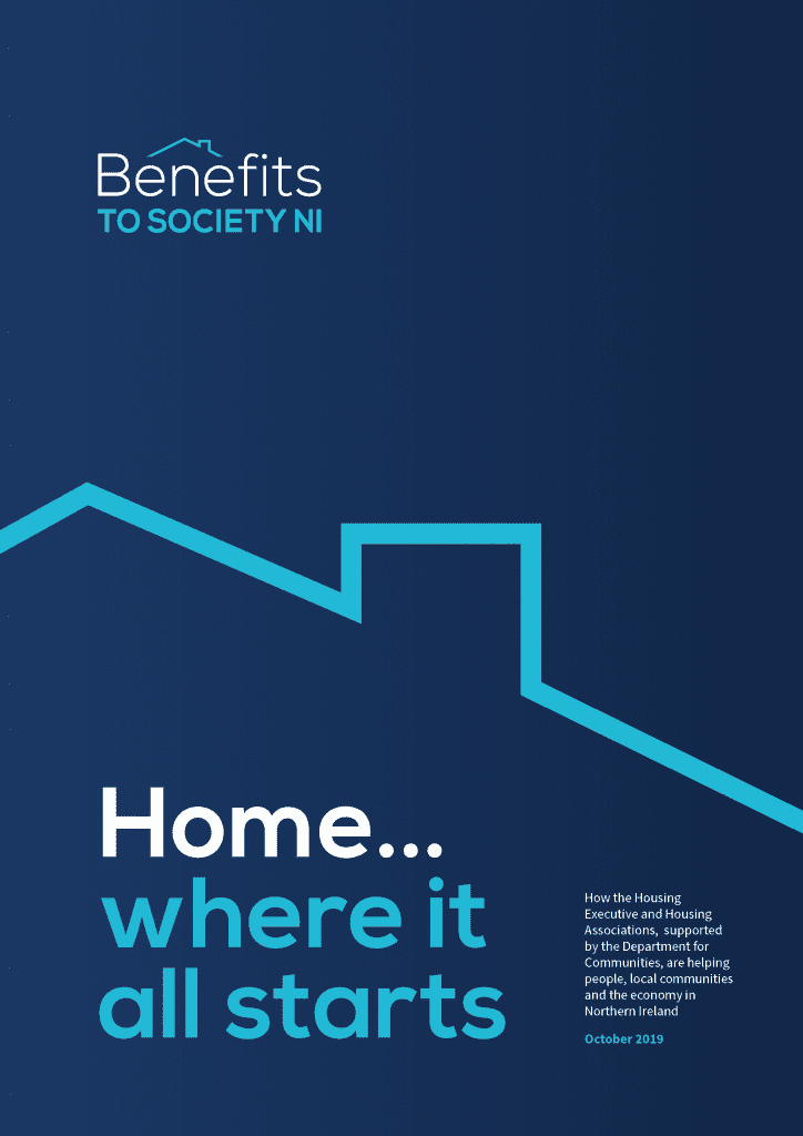 Cover of Benefits to Society NI booklet