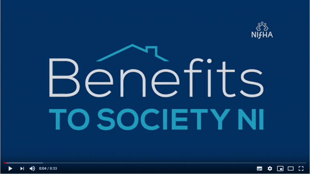 Benefits to Society NI video title screen shot