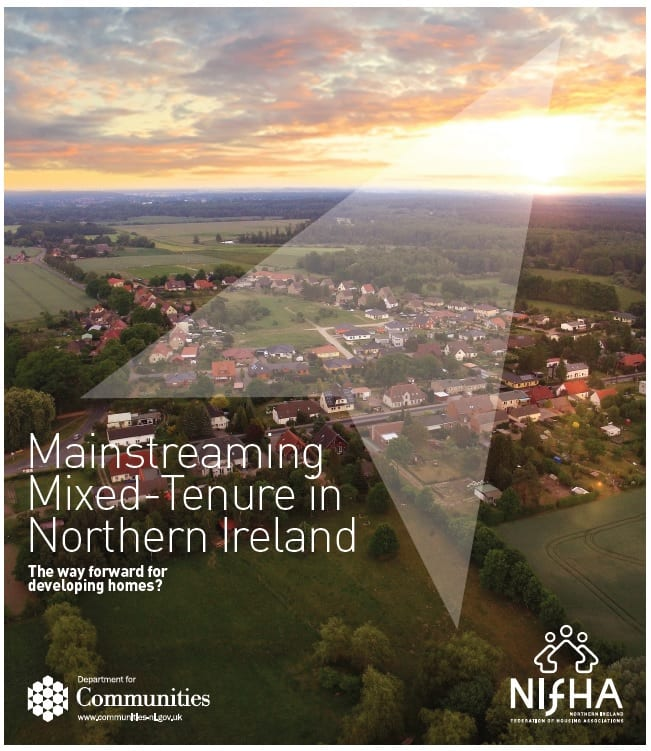 Cover of NIFHA DfC Mixed Tenure report