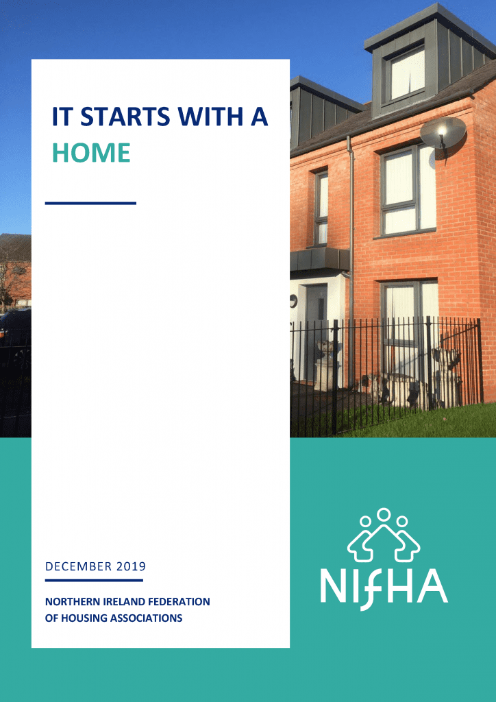 Cover of NIFHA It Starts with a Home booklet