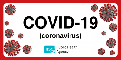 Covid 19 graphic with link to PHA guidance March 2020